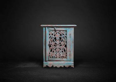 Kästchen blau