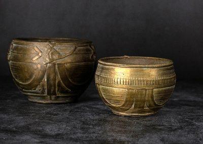 Ritual-Schalen aus Bronze