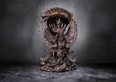 Reiter Vishnu mit Garuda