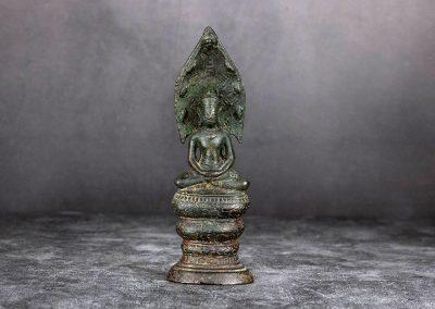 Buddha auf dem Naga-Thron