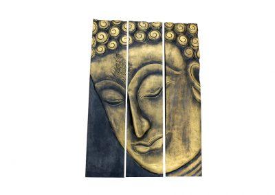 3-teiliges Buddhabild
