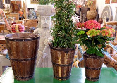 Bucket Set für Blumen