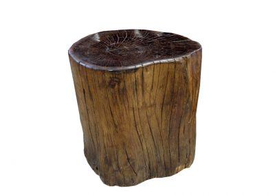 Hocker Iron Wood