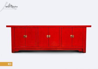 Rotes Lowboard