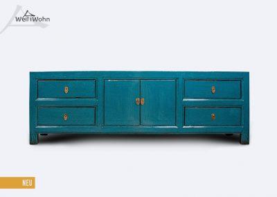 Lowboard blau