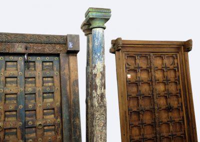 Schlanke Säulen