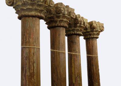 Massive Säulen