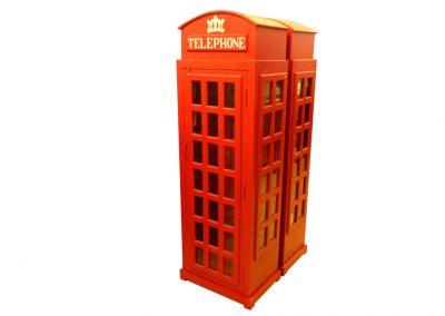 Vitrine, Britische Telefonzelle