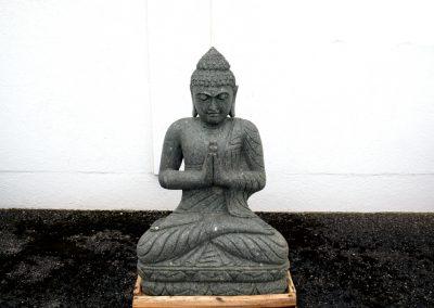 Grosser Buddha Lavastein