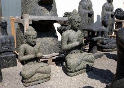 Buddha frostsicher
