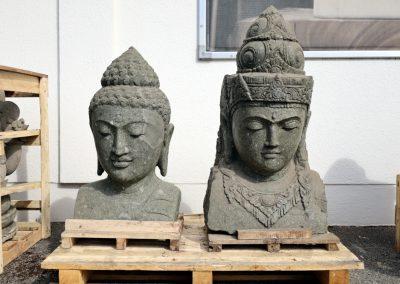 Grosser Buddhakopf