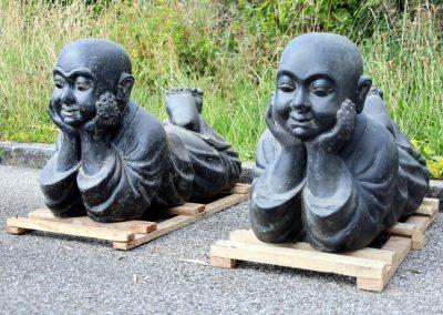 Zufriedener Mönch